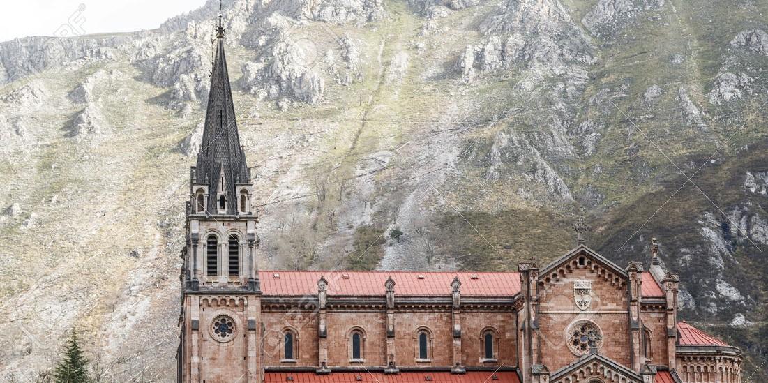 Asturias and Covadonga convent, Spain