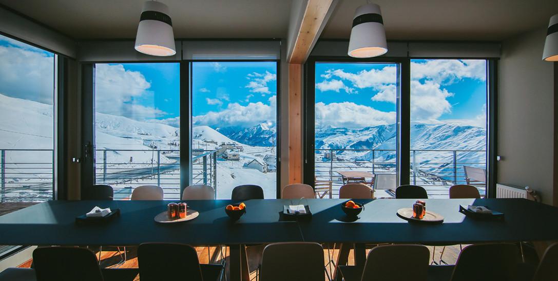 The Quadrum Ski & Yoga Resort