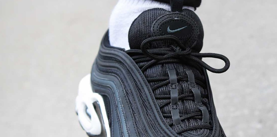 Nike Releases Air Max 97 Plus in Black with Reflective Details