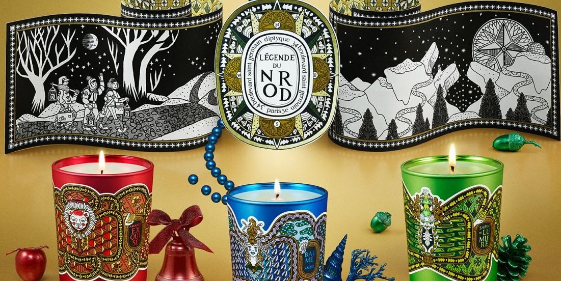 Η χριστουγεννιάτικη συλλογή της diptyque