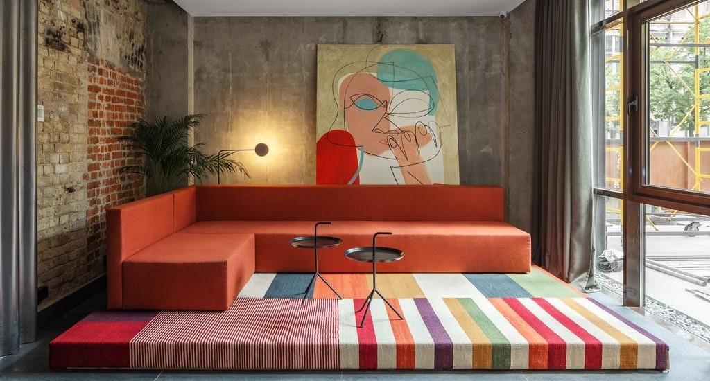 Kiev's BURSA hotel pays homage to Bauhaus design