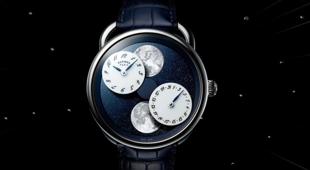 Το νέο ρολόι του οίκου Hermes που δείχνει τις φάσεις της Σελήνης