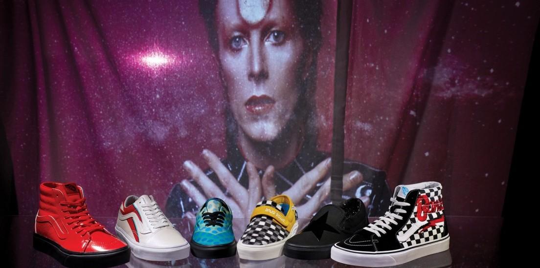 Η Vans τιμά την κληρονομιά του David Bowie με μια Limited Edition συλλογή υποδημάτων & ένδυσης