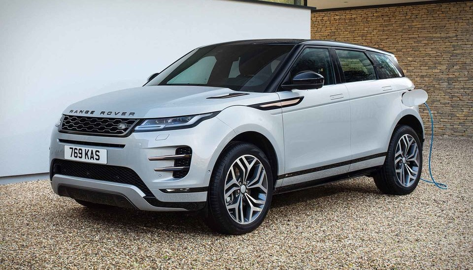 LAND ROVER PLUG-IN HYBRID SUVS
