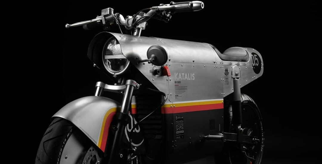 WW2 INSPIRED VINTAGE E-BIKE KATALIS EV.500