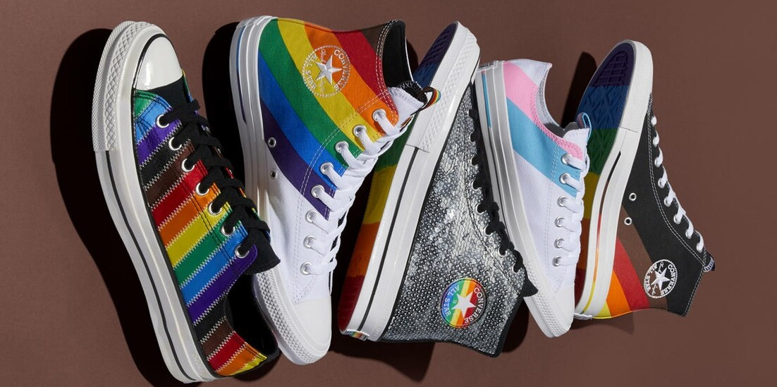 Converse and Nike Just Revealed Their Pride 2020 Shoes