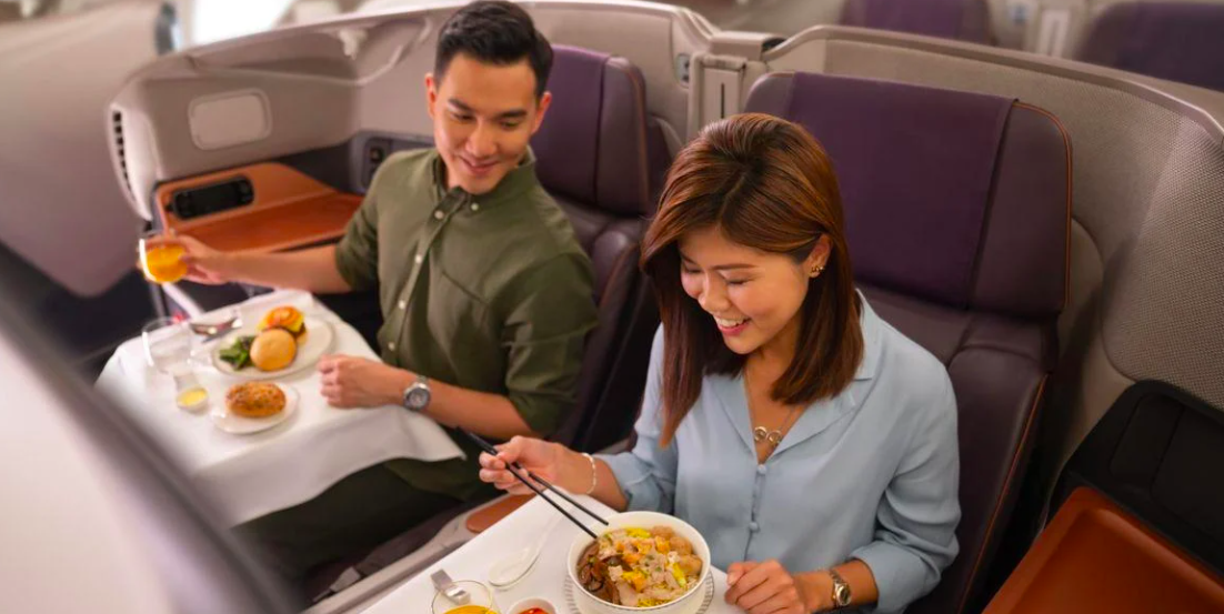 Singapore Airlines is converting its business class on the Airbus A380 into a fine dine restaurant