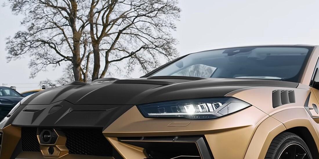 800 HP Bronze Lamborghini Urus With Mansory Carbon Kit Is Worth $500,000