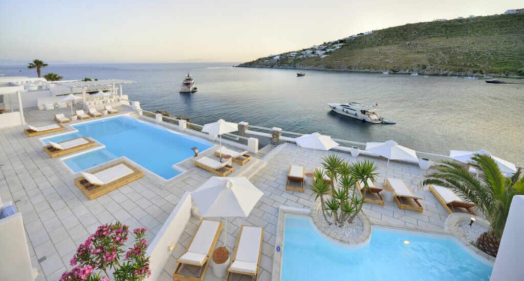 Nissaki Boutique Hotel Near Platis Gialos Beach
