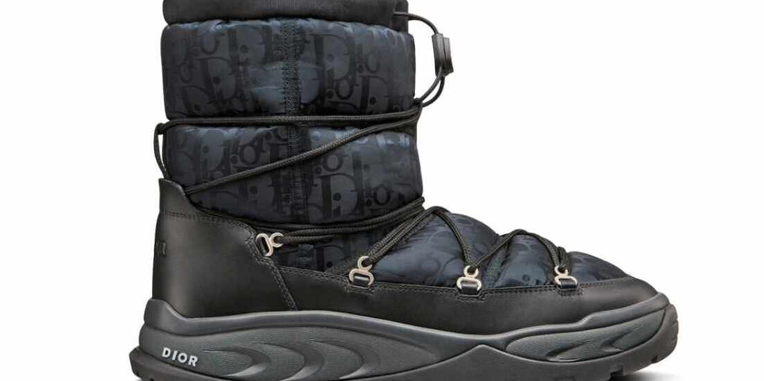 Dior's Snow Ankle Boot Is Here to Take Over Winter
